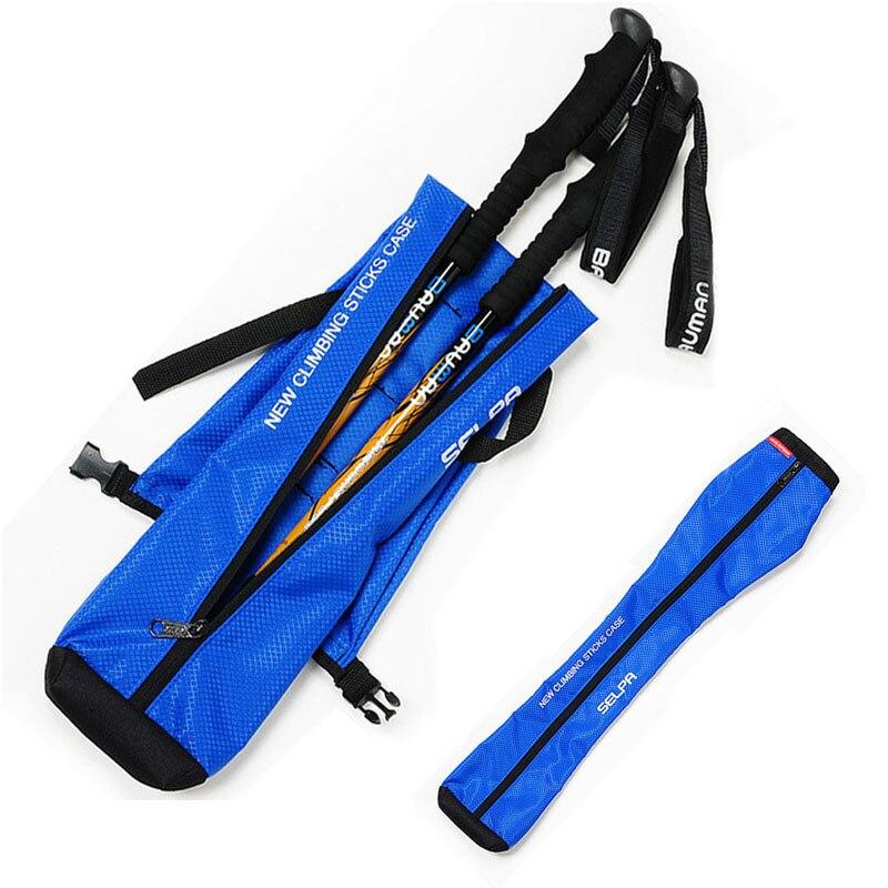 1 шт. треккинг полюс рюкзак костыли сумка для хранения портативный складной Полюс