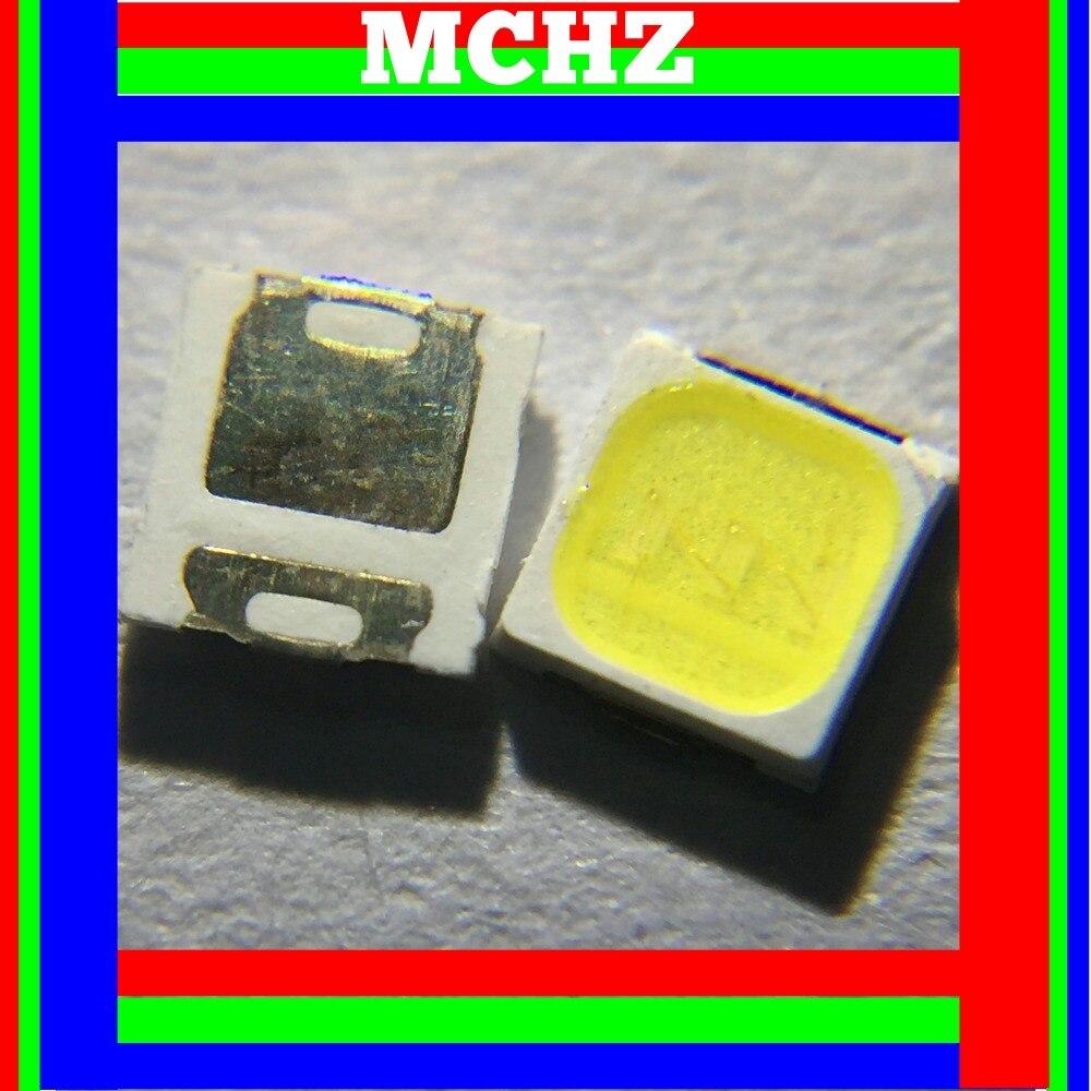 200pcs 3030 SMD/SMT LED White 6000K 3000K 140LM SMD Surface Mount 9V~9.6V Ultra Birght Led Diode Chip