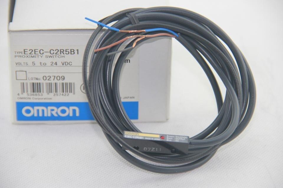 [ZOB] توريد جديد الأصلي OMRON القرب الاستشعار E2EC-C2R5B1 2M
