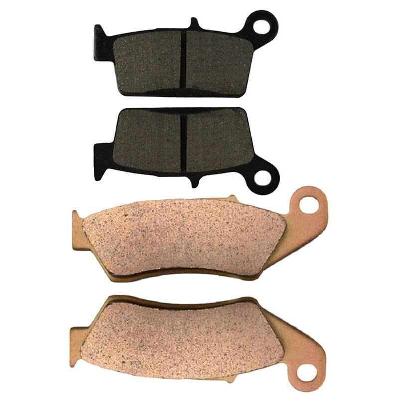 Pastilhas de freio dianteiras e traseiras da motocicleta para kawasaki kx125 1995-2005/kx250 1995-2002/kx500 1996-2004/klx300 1997-2006