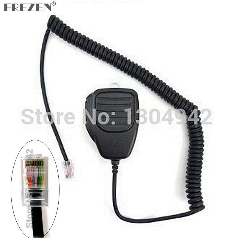 8 pin Handheld Remote Speaker Mic Microphone for iCom Radio IC-706 IC-2000/H IC-F1721 IC-7000 IC-V8000 IC-FR3000 IC-FR4000