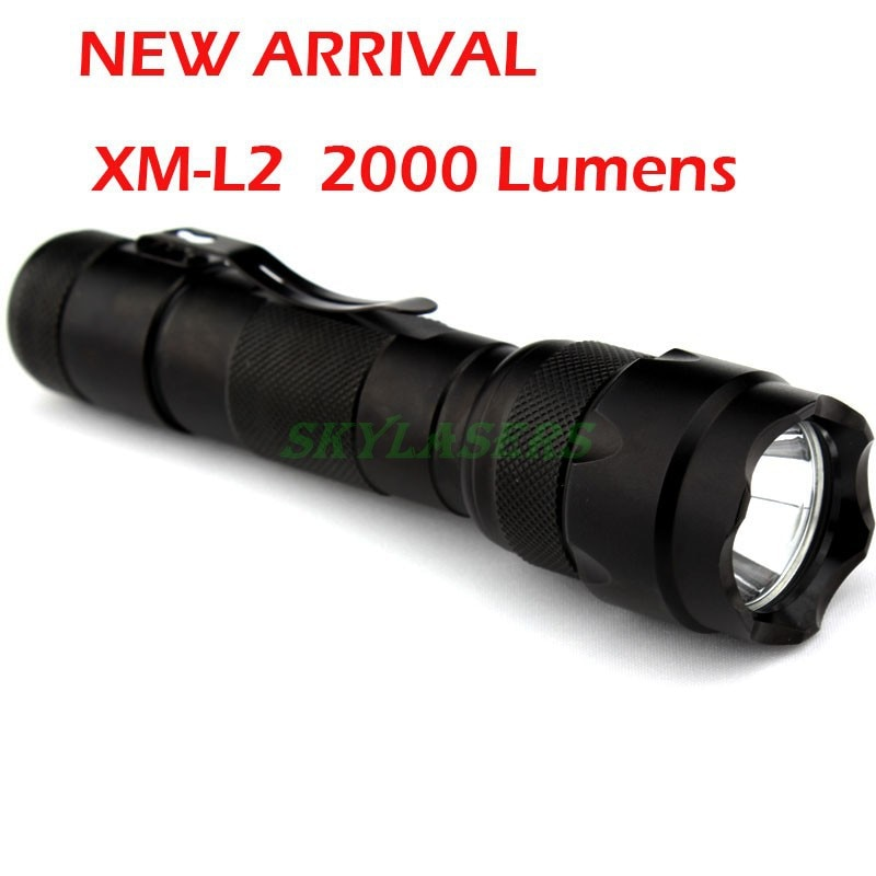 502b l2 led lanterna xm-l l2 tocha 5 modos de luz led lanterna