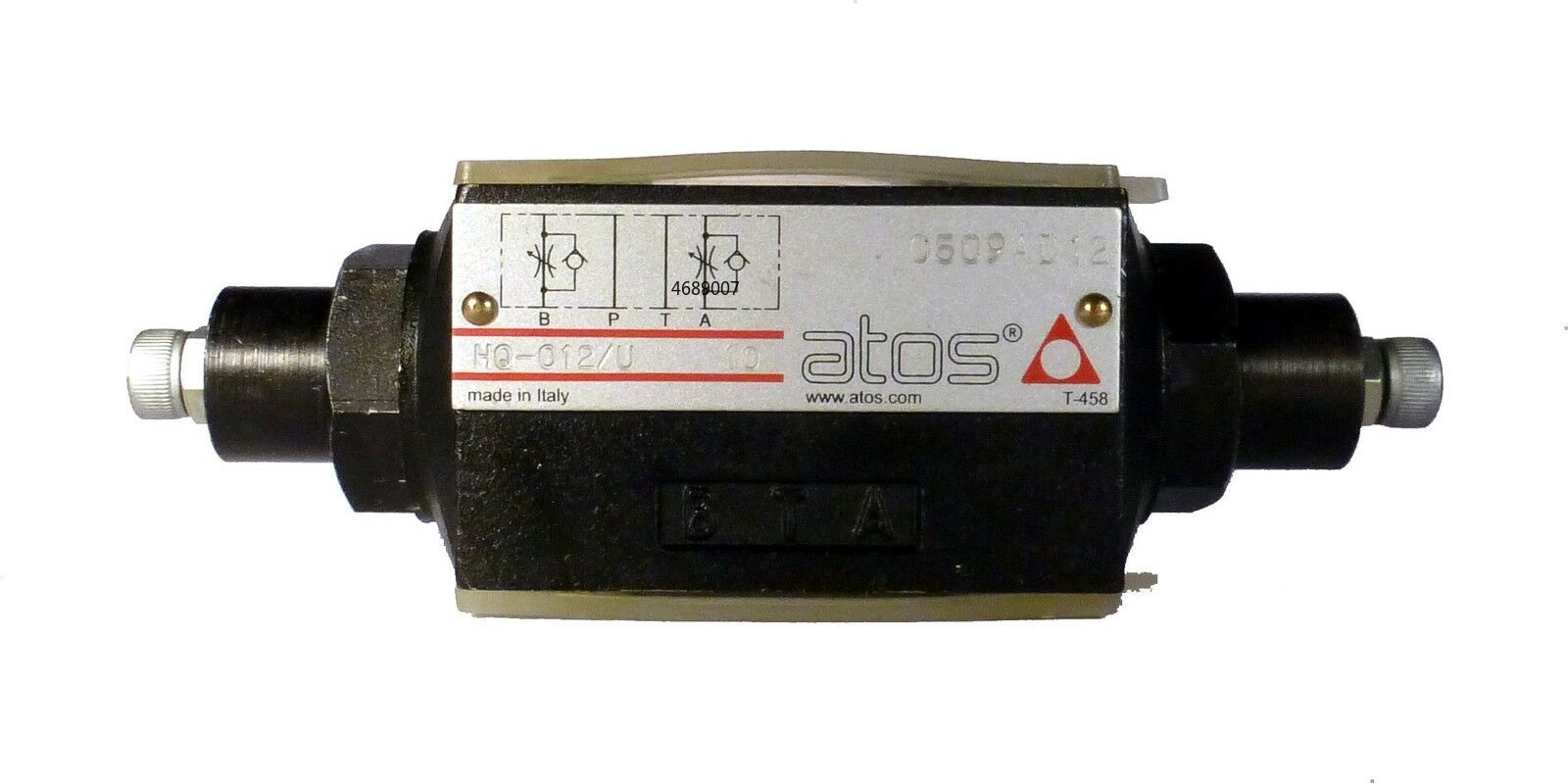 اتوس HQ-012/u 10 Zwischenplatten Ventil Drossel وحدات خنق صمام HQ-012