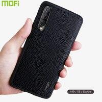 Чехол Mofi для Xiaomi Mi 9, чехол для Xiaomi Mi9 Se, чехол из искусственной кожи, задняя крышка для Xiaomi Mi9 Case Se Explore, коричневый, красный