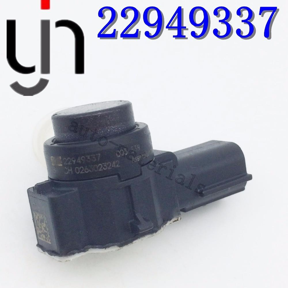 10 Uds parte original 22949334 22949336 22949337 PDC Sensor de aparcamiento para coches parachoques asistencia inversa para G M 0263023232 con anillos parachoques