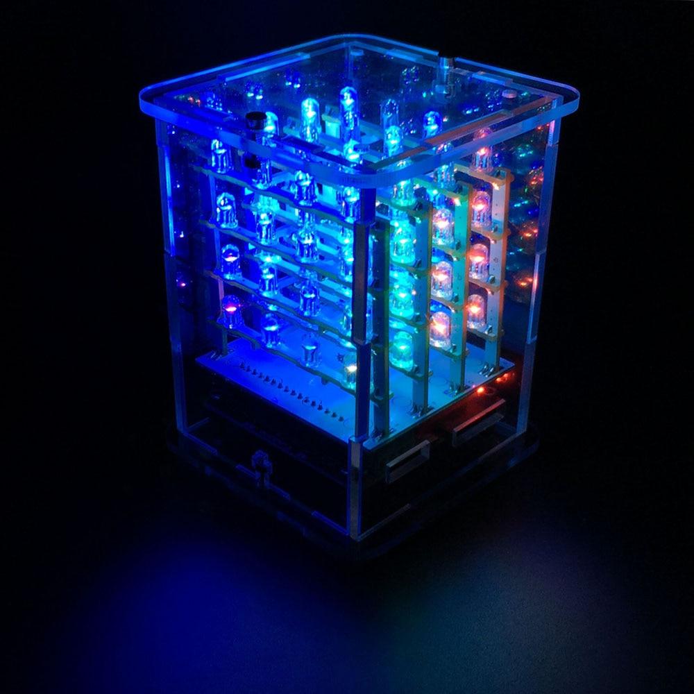 Keyestudio 4*4*4 RGB светодиодный дисплей CUBE Star