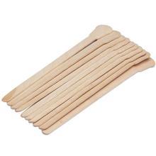 10 pièces corps épilation bâtons cire épilation bâtons jetables beauté Kits de toilette bois langue dépresseur spatule bambou bâtons