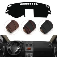 console dashboard suede mat protector sunshield cover fit for nissan qashqai rogue j10 2006 2013