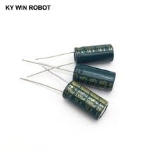 10 pièces En Aluminium électrolytique condensateur 3300 uF 16 V 10*20mm frekuensi tinggi Électrolytique Radial kapasitor