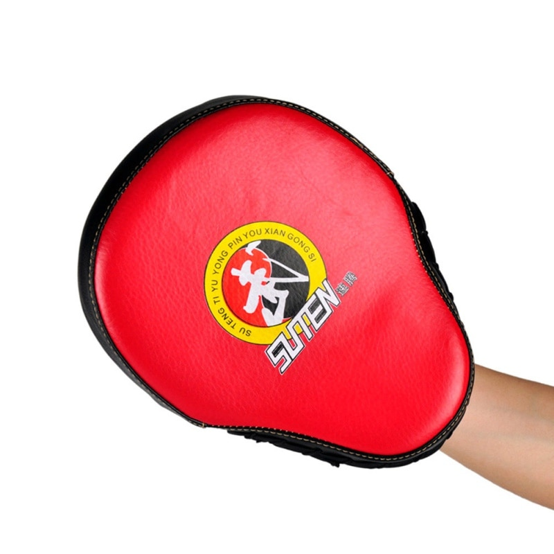 Punching Kicking Pad Taekwondo Target Brand PU Leather Training Equipment Curved Target MMA Boxing Curved Punch Pad Hot