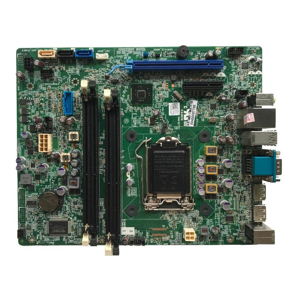 Excelente para DELL OPX 9020 7020 SFF placa base de escritorio LGA1150 DDR3 Q87 CN-0XCR8D 0XCR8D XCR8D 100% de trabajo