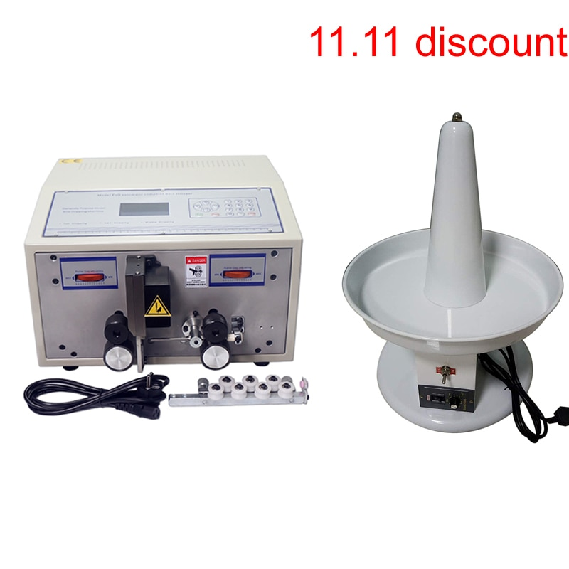 Máquina de corte pelado de 1 mm-2.5mm2 SWT508C-II + máquina de alimentación de cables eléctrica WF01S