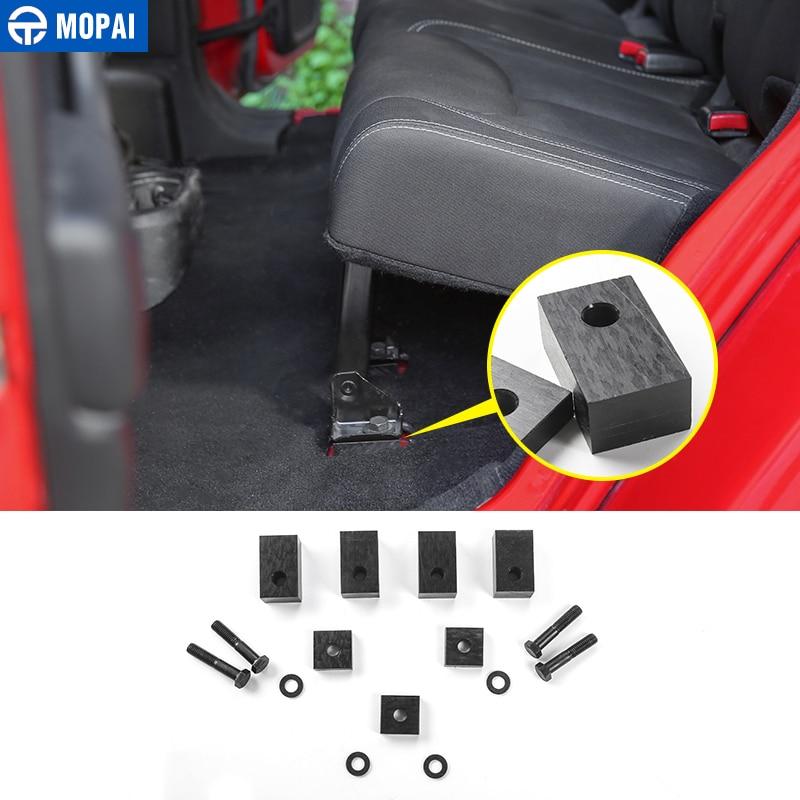 MOPAI Car Rear Seat Recline Kit Seat Screw Angle Adjust Tool Kit Cover for Jeep Wrangler JK 2007 Car Accessories