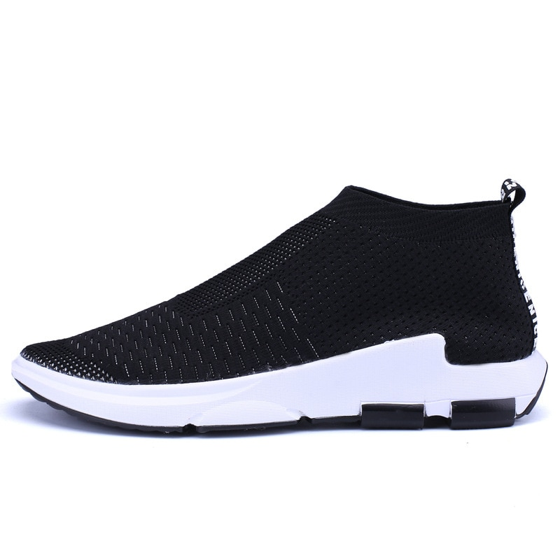 New High Quality Men Casual Shoes spring Fashion brand soft breathable sneakers Lace-up tide male Flats shoe Zapatos Big size 46