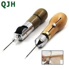 Outil de couture en cuir Awl bricolage machine à coudre manuelle en cuir artisanat bord couture ceinture cordonnier outil de réparation de toile