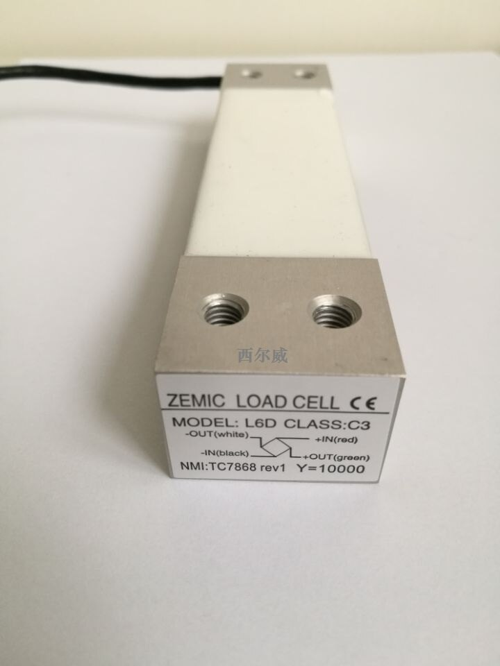 Suministro de fábrica, marca nueva, balanza zémica, Sensor L6D Micro Mini célula de carga 2,5 kg 3kg 5kg 6kg 8kg 10kg, célula de carga de punto único