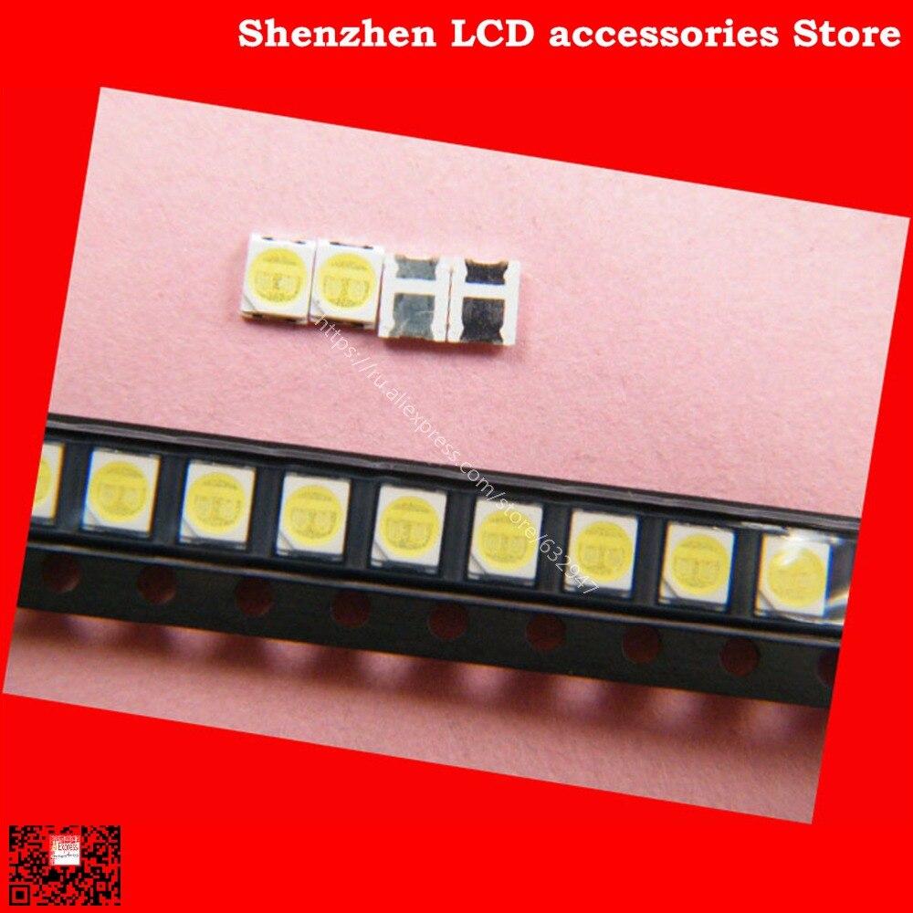 250 unids/lote para mantenimiento Konka Changhong Amoi LCD TV luz de fondo LED con la Bahía este 2835 SMD LED cuentas 6V 100% nuevo