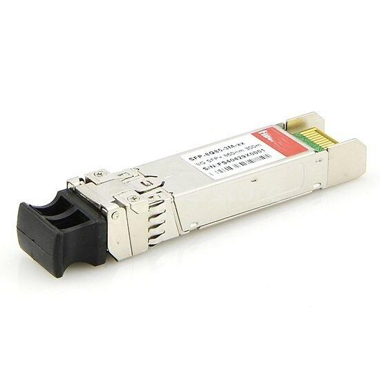 FirstFiber 10G SFP + 1550nm 40 km 80 km DOM Transceiver Modul LC Duplex Interface 10G SFP Dual faser Optische Transceiver