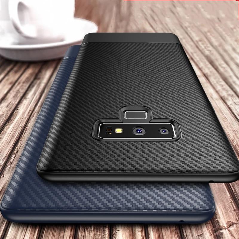 Business Carbon Hinweis 8 Fall für Samsung Galaxy Note 9 10 S10 e Note9 Coque für Samsung Galaxy S8 S9 s10 Plus Hinweis 9 8 Fall Abdeckung