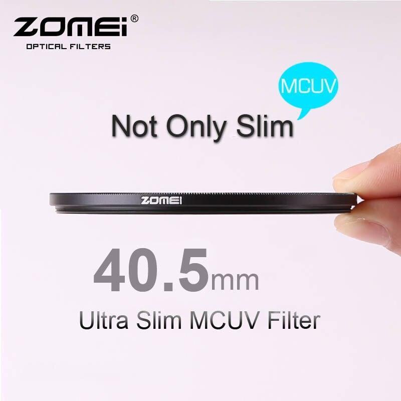Respectivamente Original 40,5mm Ultra Slim MCUV Multi-revestido Pro MC-UV filtro para Canon Nikon Sony Fujifilm OLYMPUS Pentax Lumix Hoya de la lente
