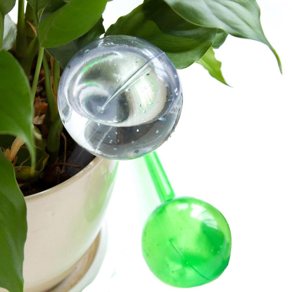 Dispositivo de rega automático verde claro pvc planta planta pote bulbo globo jardim casa waterer planta waterer ferramenta