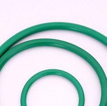 20pcs 1mm diameter green fluoro rubber O-ring repair box skeleton oil seal PTFE gasket  54mm-61mm outer diameter