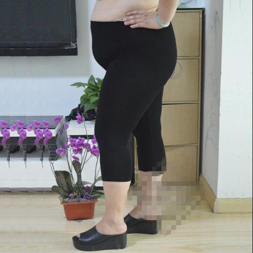 Capri Women 2019 Women Summer Wear Elastic High Waist Pencil Pants Plus Size Sexy Lady Skinny Slim Calf-Length Leggings J930