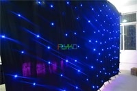 free shipping 3x6m amazing flexible indoor led vision party curtain