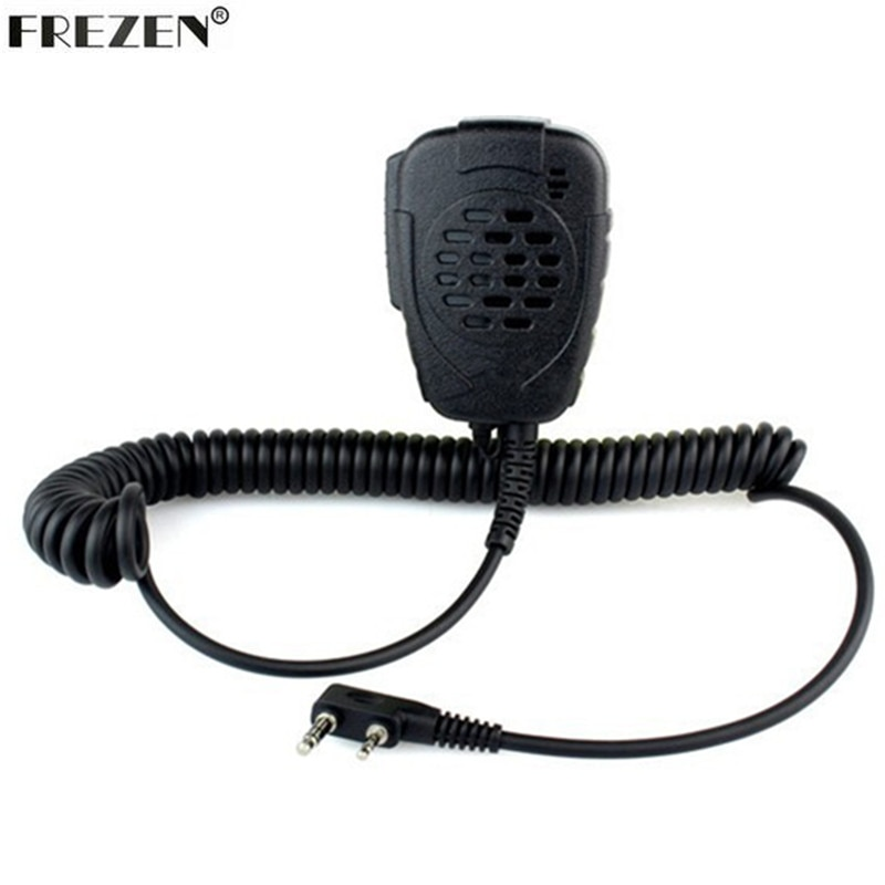 Mini Speaker Mic Waterproof Handheld Microphone For Kenwood TK3107 3207 BAOFENG UV-5R Walkie Talkie enlarge