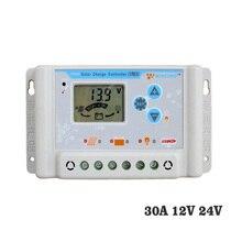 30A 12V 24V LI LI-ION NI-MH LiFePO4 Batterie 11,1 V 12,8 V 22,2 V 25,6 V Solar Ladung controller Regler