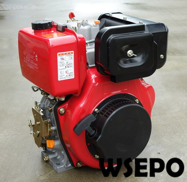 Direkt Ab Werk Liefern! WSE-178F 6hp 305cc Luftgekühlten Dieselmotor, Direkteinspritzung für Generator/Wasserpumpe/Spliter/Farm Tiller