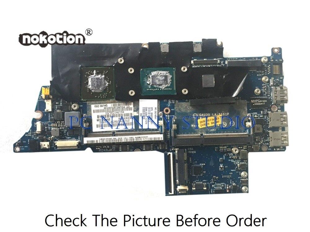 PCNANNY 689844-001 QAU30 LA-8661P ل hp ENVY4 اللوحة المحمول SR0N8 i5-3317U DDR3 اختبار