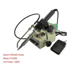 1pc Automatic Tin Feeding Machine Constant Temperature Soldering Iron Teclast Multi-function Foot Soldering Machine F3100D