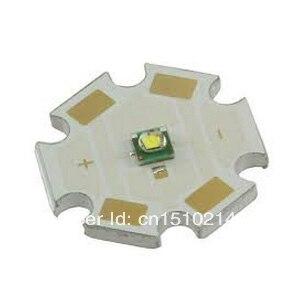 10 unids/lote nos original CREE XP-G R5 5 W LED blanco frío 6000-6500 K 20mm estrella PCB