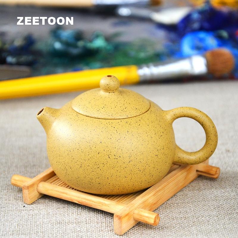 80cc 100cc Authentic Yixing Teapot Mini Xishi Pot Chinese Healthy All Handmade Purple Clay Pot Zisha Kung Fu Tea Set Tea Pot