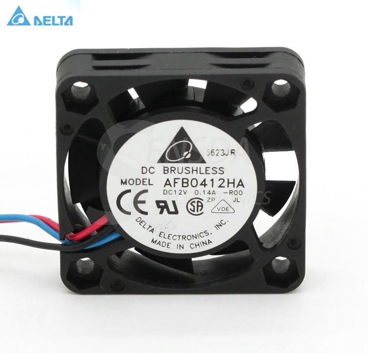 Dla delta AFB0412HA 4cm 40mm 4010 DC 12V 0.14A mini mikro cichy cichy komputer serwer case cooler chłodzenie osiowe wentylatory