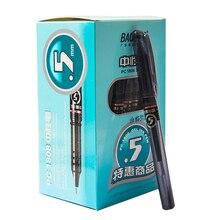 36 pièces BAOKE PC 1808 Gel stylo 0.5mm carbone noir Gel stylo étudiant papeterie en gros