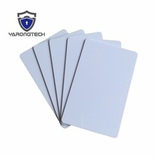 Carte RFID blanche en plastique 860 ~ 960MHZ   Alien H3 carte UHF blanche et vierge-100 pièces