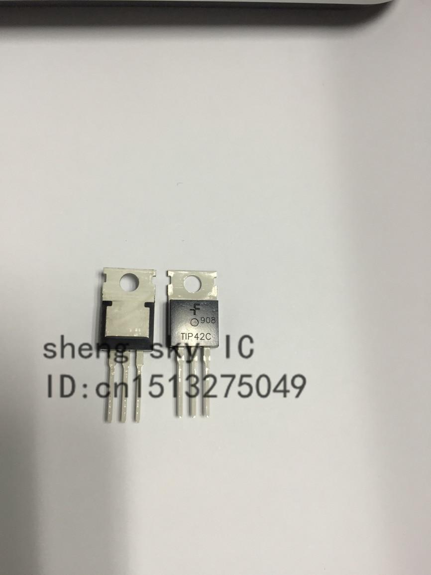Envío Gratis TIP42C TIP42 TIP41 TIP41C TO220-220 cada 10 piezas silicio complementario de los transistores de energía