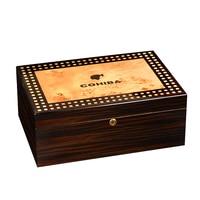 CIGARLOONG Cigar Box Solid wood Moisturizing Box Moisturizing Cabinet Large Capacity Double Layer Cigar Moisturizing Box CC-0044