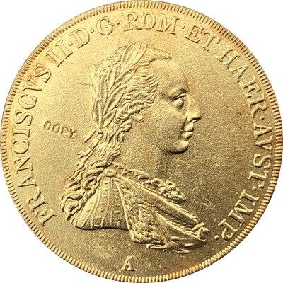 1806 áustria 4 moedas ducat cópia 39mm