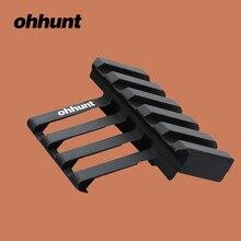 Ohhunt chasse ohhunt fixation rapide de Rail de tisserand Offset à 45 degrés pour lunette de visée de lampe de poche