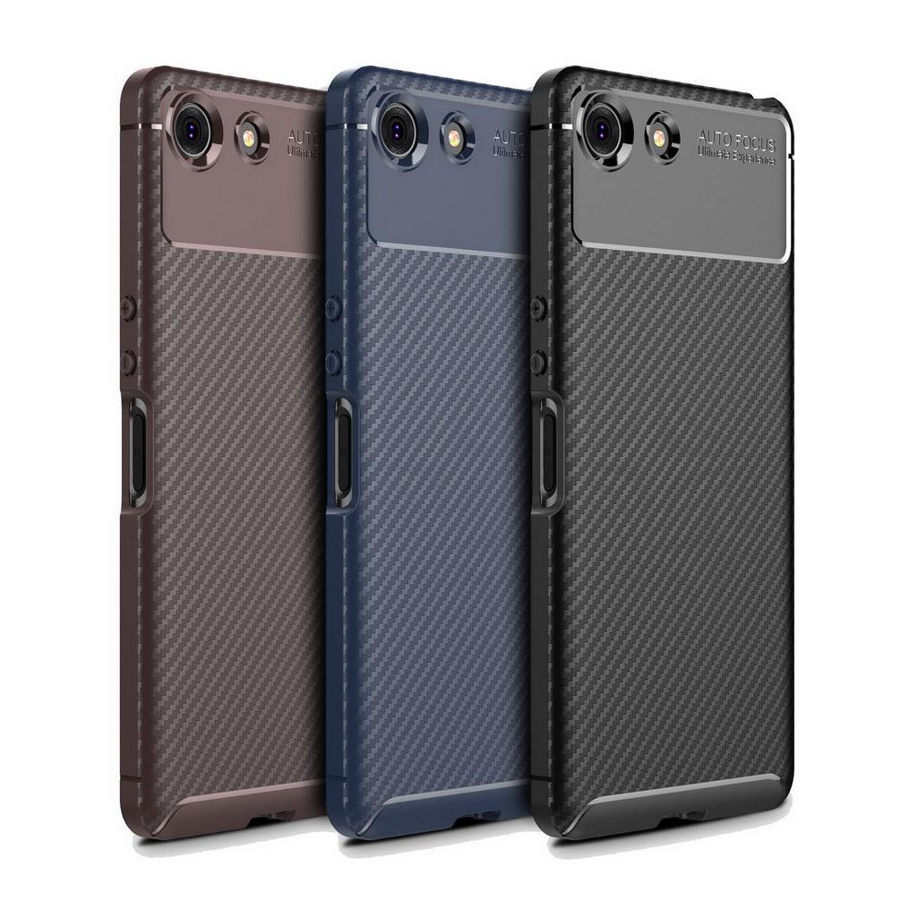 Funda de teléfono de lujo para Sony Xperia XZ4 compacto Fundas suave...
