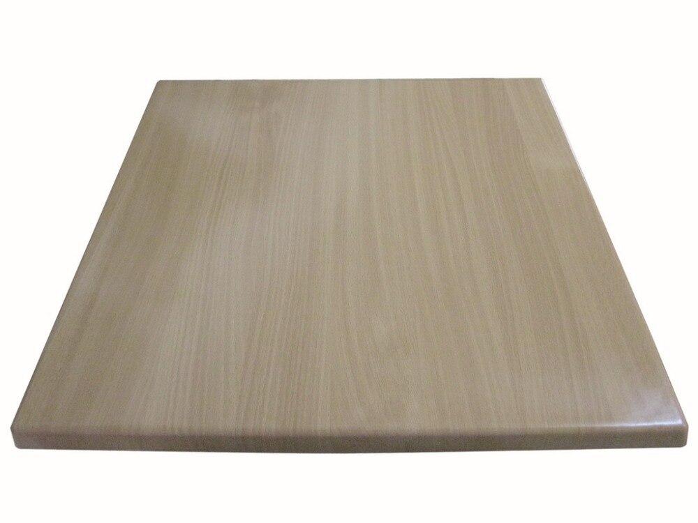 Venta al por mayor de mesa moldeada de mesa de escritorio de resina de café al aire libre