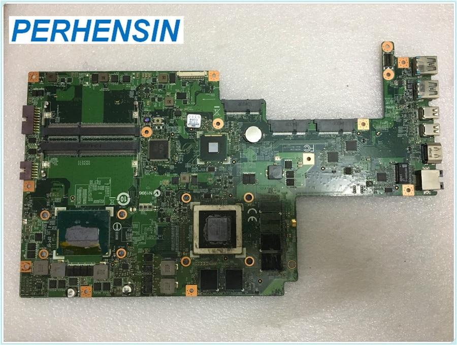 ل MSI GS70 GS70-20D MS-17711 محمول Moederbord MS-1771 SR15E I7 4700HQ HM87 GTX765M 100% العمل تماما