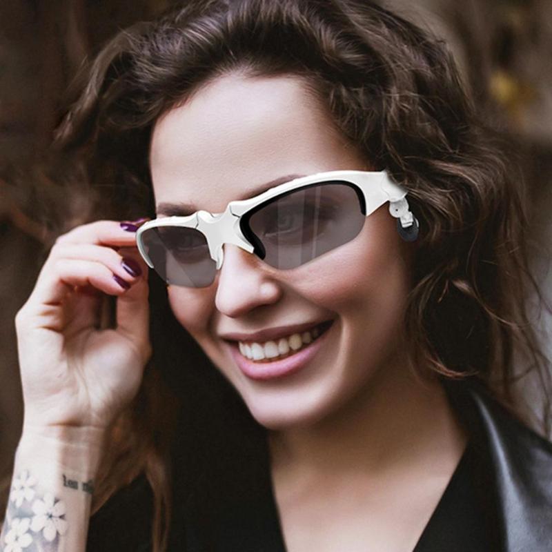 Auriculares Bluetooth X8S Auriculares auriculares inalámbricos gafas de sol con micrófono
