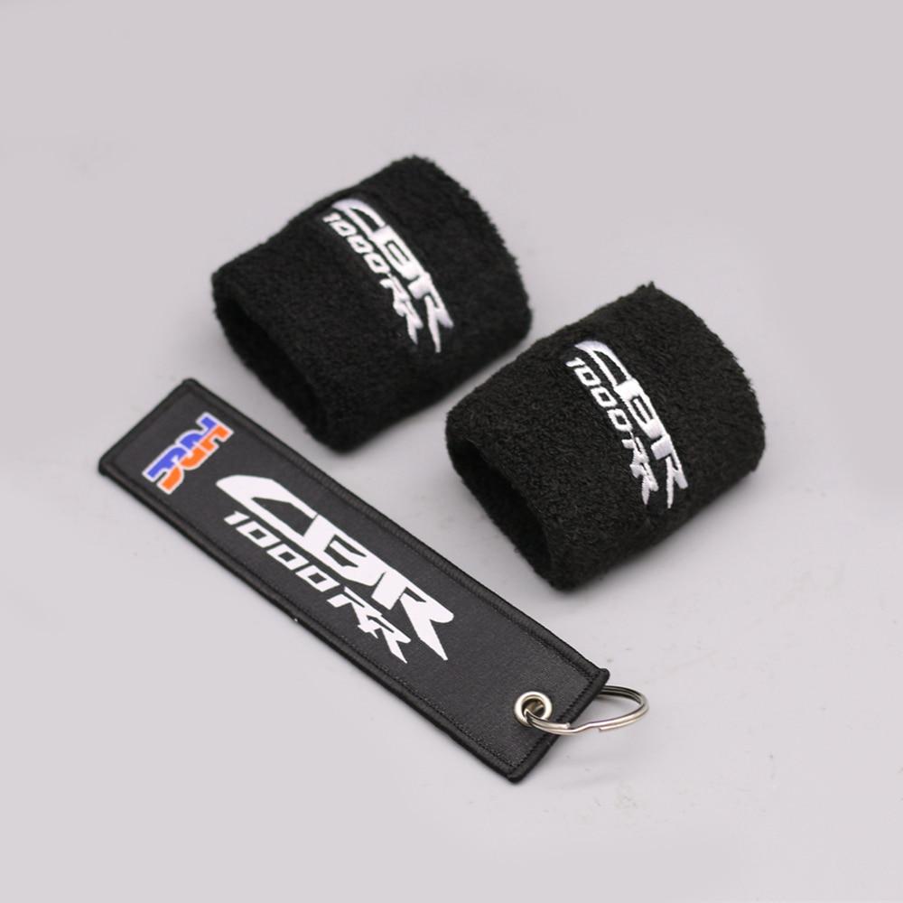Передняя Тормозная жидкость мотоцикла Крышка Резервуара масла носок рукав для Honda CBR1000RR 2004 2005 2006 2007 2008 2009 2010 2011 2012