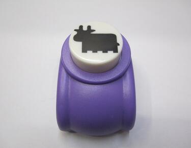 Envío gratis 2-2,5 cm forma de vaca perfuradores agujero perforador de papel hecho a mano, perforadora de libro de recortes diy toy