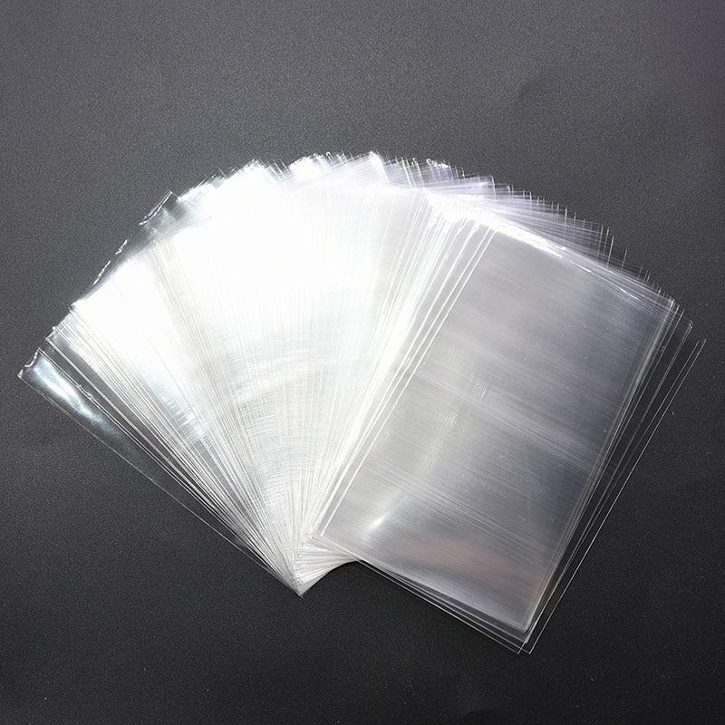 100 Uds 4 tamaños disponibles bolsas de plástico Opp transparentes para dulces piruletas galletas Paquete de celofán bolsa boda favores de regalos de fiesta