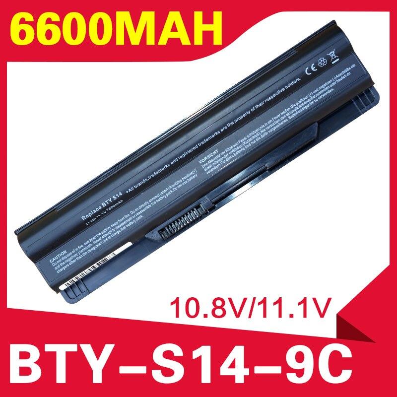 ApexWay batería para MSI BTY-S14 BTY-S15 FR700 FX700 CR650 CX650 FX420 FX603 40029683 de 40029150 a 40029683